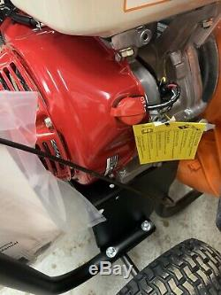 Billy Goat Honda Gas 13hp Moteur Sans Fil Marche Derrière Parking Et Souffleur À Feuilles