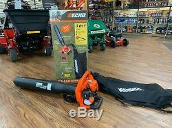 Brand New Echo Es-250 Souffleuse Shredder 391 Cfm Broyeuse 25.4cc 2 Temps