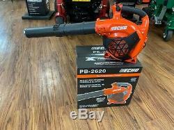Brand New Echo Pb-2620 X-series De Gaz À Main Souffleuse 2 Stroke 25.4cc 456cfm