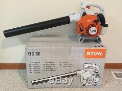 Brand New Stihl Bg50 Ventilateur Bg 50 À Main Souffleuse Livraison Gratuite