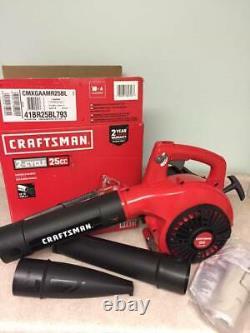 Craftsman B210 25cc 2-cycle 200-mph 430-cfm Souffleur À Gaz Portatif Marque Nouveau