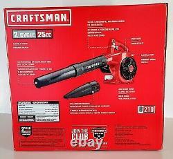 Craftsman B210 25cc 2-cycle 200-mph 430cfm Souffleur De Feuille De Gaz Portatif#cmxgaamr25bl