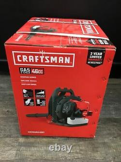 Craftsman Cmxgaah46bt 46cc 2-cycle Gas Backpack Blower Brand New Sealed