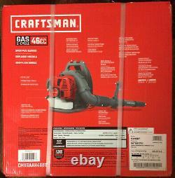 Craftsman Gas 2 Cycle 46cc Sac À Dos Souffleur Cmcxgaah46bt Nouveau