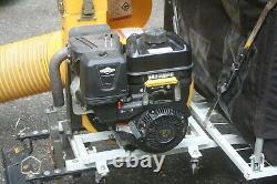 Cyclone Rake Système Vide Feuille Pelouse Souffleur Catcher 10hp Bundle