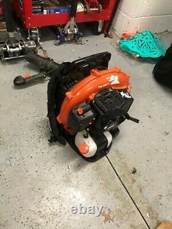Echo 215 Mph 510 Cfm 58.2cc Gas Backpack Blower With Tube Throttle Pb-580t