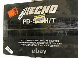Echo 216 Mph 517 Cfm 58.2cc Gaz 2-stroke Cycle Backpack Leaf Blower
