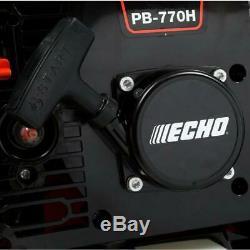 Echo 234 Mph 756 Cfm 63,3 CC Gaz 2 Temps De Cycle Sac À Dos Souffleuse Avec La Hanche