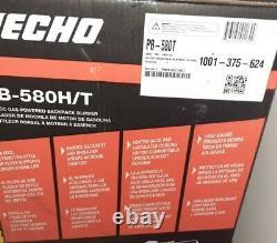 Echo Back Bowk Blower P/b 580h/t Tout Neuf. Lire La Description