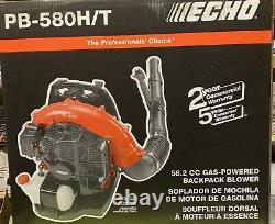 Echo Backpack Blower Pb-580h/t 58.2cc Souffleur De Sac À Dos À Essence