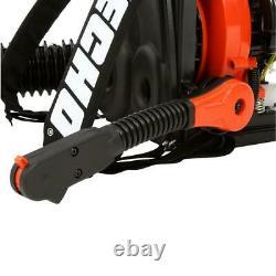 Echo Backpack Leaf Blower Gas 158 Mph 375 Cfm Easy Start Moteur 2 Temps
