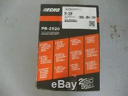 Echo Handheld Souffleuse Gaz Moteur CC 25,4 170 Mph 453 Cfm Poids Léger Chantier