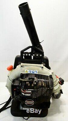 Echo Modèle Pb-403t 2 Stroke Engine Gas Powered Backpack Souffleuse