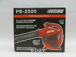Echo Pb-2520 35.4 CC Souffleur De Feuilles Portatif À 2 Temps Alimenté Au Gaz
