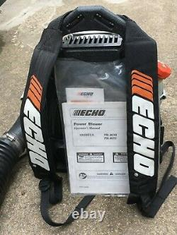 Echo Pb-403t Dos Pack Gas Powered Leaf Blower 2 Stroke 1 Propriétaire Local Pickup