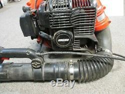 Echo Pb-500t Alimentée Au Gaz Sac À Dos Souffleuse