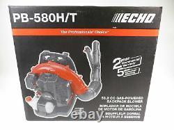 Echo Pb-580h/t 2-stroke Cycle De Gaz 216 Mph 517 Cfm 58,2 CC Souleveur À Dos