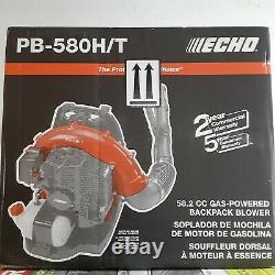 Echo Pb-580ht 58.2 CC Gas 2-stroke Cycle Backpack Leaf Blower