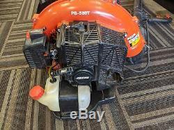 Echo Pb-580t 215 Mph 510 Cfm 58.2cc Gas 2 Temps Sac À Dos Souffleuse