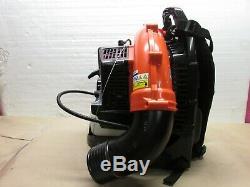 Echo Pb-580t 216 Mph 517 Cfm 58.2cc Gaz 2 Temps Cycle Sac À Dos Souffleuse