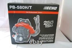Echo Pb-580t 517 Cfm 58,2 CC Gaz 2 Temps De Cycle Sac À Dos Avec Souffleuse Tube Tr