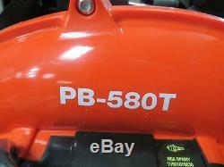 Echo Pb-580t Souffleur De Feuilles À Dos À Moteur Commercial