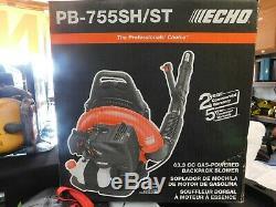 Echo Pb-755sh-st 63.3cc Gaz Backpack Blower Leaf