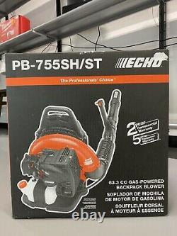 Echo Pb-755sh/st Feuille De Sac À Dos Blower Gaz Pb755st 233 Mph 2 Course Nouveau 63.3cc