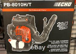 Echo X Série Pb-8010t 79.9cc Sac À Dos Ventilateur Avec Tube De Commande Monté
