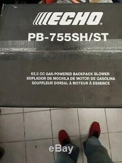Etanche Box Echo 233 Mph 63.3cc Gas 2 Temps Sac À Dos Souffleuse Pb-755st Nouveau