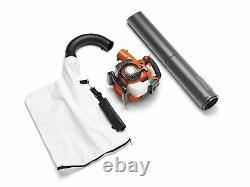Husqvarna 125bvx 28cc 2-cycle Gas 470 Cfm 170 Mph Refroidisseur De Feuille Portatif/vacuum