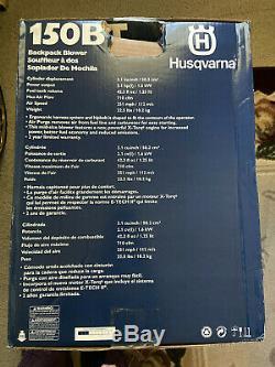 Husqvarna 150bt 50 CC 2-cycle À Dos À Essence Souffleuse