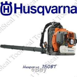 Husqvarna 150bt 50cc 2 Cycle Gas Feuille Souffleur À Dos Avec Harnais (recon)