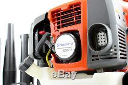 Husqvarna 150bt 50cc Ventilateur À Dos À Dos Commercial À 2 Cycles Avec Gaz Et Harnais