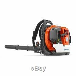 Husqvarna 360bt 65.6cc 2-cycle 232 Mph Gaz Commercial Souffleuse Sac À Dos