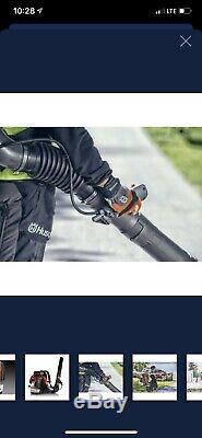 Husqvarna 570bts 66.6cc 2 Cycle Gas Sac À Dos Souffleuse 236 Mph 972 Cfm