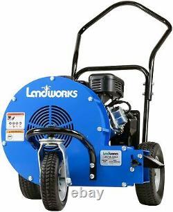 Landworks Gas Powered 4 Stroke Engine Walk Behind Leaf Blower