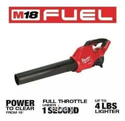 Milwaukee 18v Souffle À Feuilles M18 Fuel 450-cfm Sans Fil Portable 2724-20 (outil Seulement)