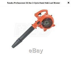 New Tanaka Trb24eap Main Held Gaz Qualité 23,9 CC Lawn Feuille De Jardin Souffleur De 170 Mph