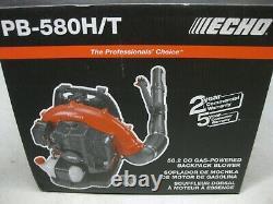 Nouveau! 2020 Echo Pb-580t 58.2cc Gas Backpack Blower Catégorie Professionnelle