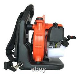 Nouveau! 2-stroke Backpack Gas Leaf Blower 32cc Powered Debris Withpadded Harness