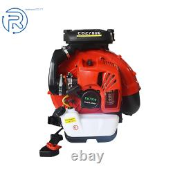 Nouveau Ebz7500rh 236 Mph 972 Cfm 65.6 CC Gas Backpack Leaf Blower