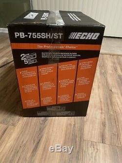 Nouveau Echo 233 Mph 63.3cc Gaz Sac À Dos 2 Temps Souffleuse Pb-755sh / St
