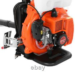 Nouveau With3.5 Gallon Tank 65cc 2stroke Gas Backpack Leaf Blower Fogger Blower Duster