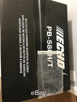 Nouvel Echo Pb-580h / T 216 Mph 517 Cfm 58.2cc Souffleur De Feuillage À Dos À Gaz # 6170-1