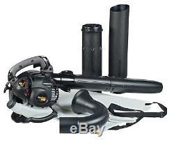 Poulan Pro Ppbv25 25cc 2-cycle Gas 450 Cfm 230 Mph Poche Souffleuse / Aspirateur