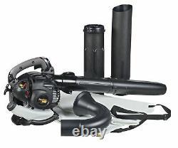 Poulan Pro Ppbv25 25cc 2-cycle Gas 450 Cfm 230 Mph Souffleur De Feuilles Portatif/vide