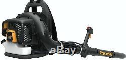 Poulan Pro Pr46bt, 46cc 2-cycle Gaz 475 Cfm 200 Mph Sac À Dos Souffleuse (refb)