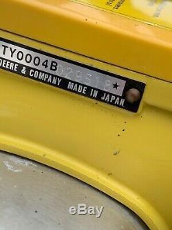 Rare John Deere Sac À Dos Souffleur De Feuilles Herbe Vintage Japon Deux Cycle Gas