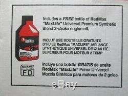 Redmax Ebz8500 206 Mph 908 Cfm 75.6 CC Ventilateur De Feuille À Dos À Essence